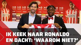 Johan Bakayoko tekent bij PSV