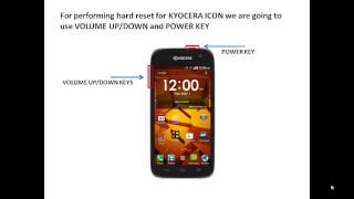 How To Hard Reset The Kyocera Hydro Reach - Free video search site