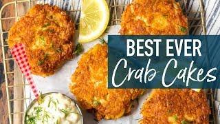Best Crab Cakes Recipe (Baltimore Crab Cakes)