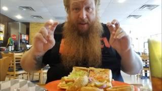 Big Red's Restaurant Invasion  ep. 3 - Bubba T's Shrimp Po Boy, Boudin Balls & Cajun Burrito Re-Edit