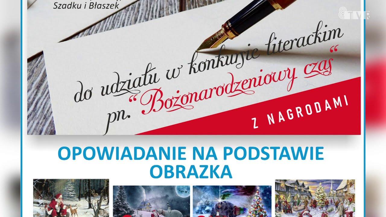 """Konkurs literacki pn. """"Bożonarodzeniowy czas""""- ogłoszenie SDK Sieradz"""