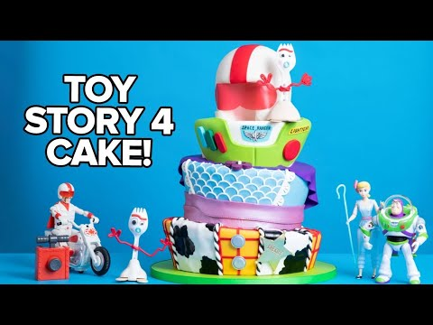 Download I Made A Cake For TOY STORY 4 RED CARPET! | How To Cake It HD Mp4 3GP Video and MP3