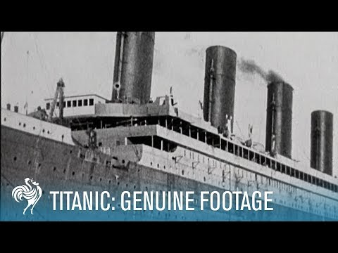 Titanic Real Footage: Leaving Belfast for Disaster (1911-1912) | British Pathé
