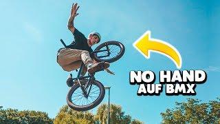 erster NEUER TRICK auf BMX! (TUCK NO HAND)