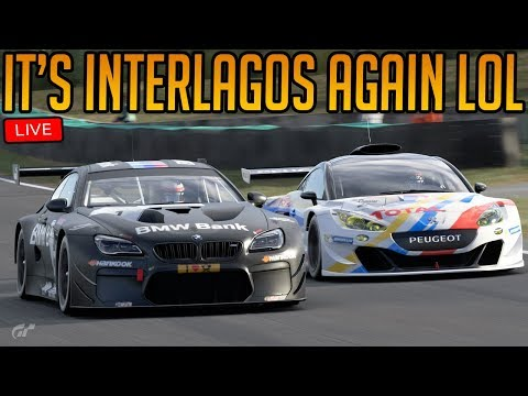 Gran Turismo Sport: Interlagos for the Billionth Time   Weekly Races