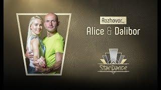 Rozhovor: Dalibor Gondík a Alice Stodůlková #StarDance9 | Kholo.pk