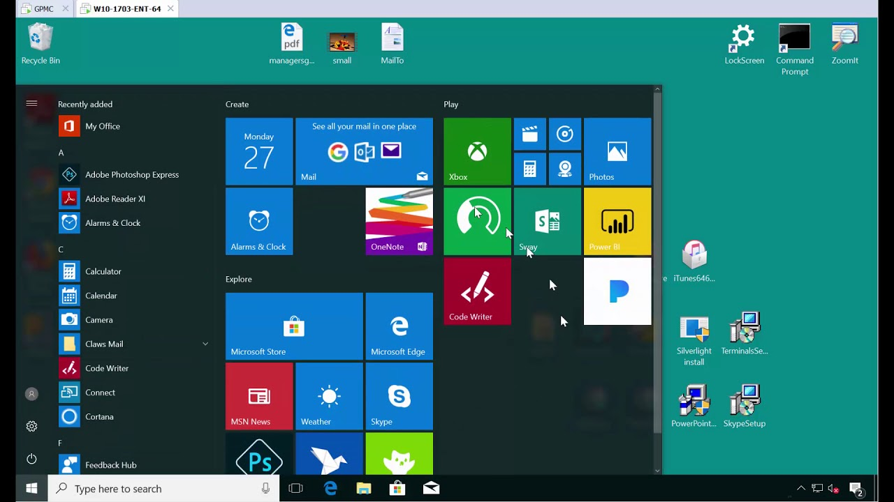 Own the Win10 Start Menu