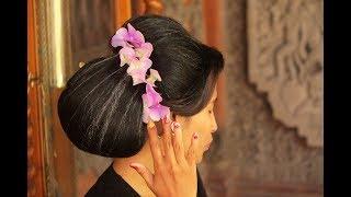 Sanggul Bali Ala Eka Raditya