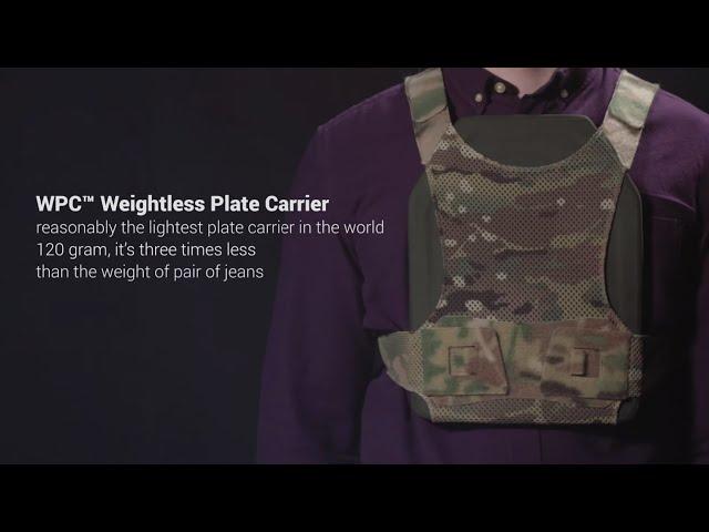 Найлегша плитоноска WPC™ Weightless Plate Carrier. Українська Броня™ - UARM™ - YouTube