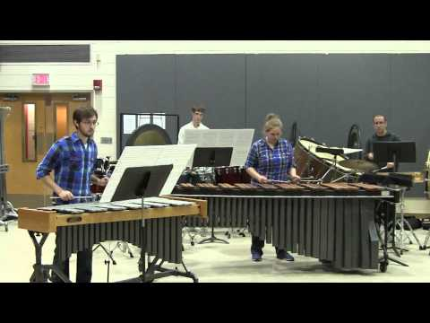 Run through for my junior recital marimba solo -- Rite of Passage by Jesse Monkman