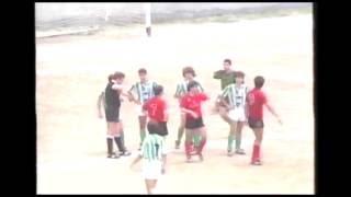 Salud 3 - Albacete 0. Temp. 89/90. Jor. 36.