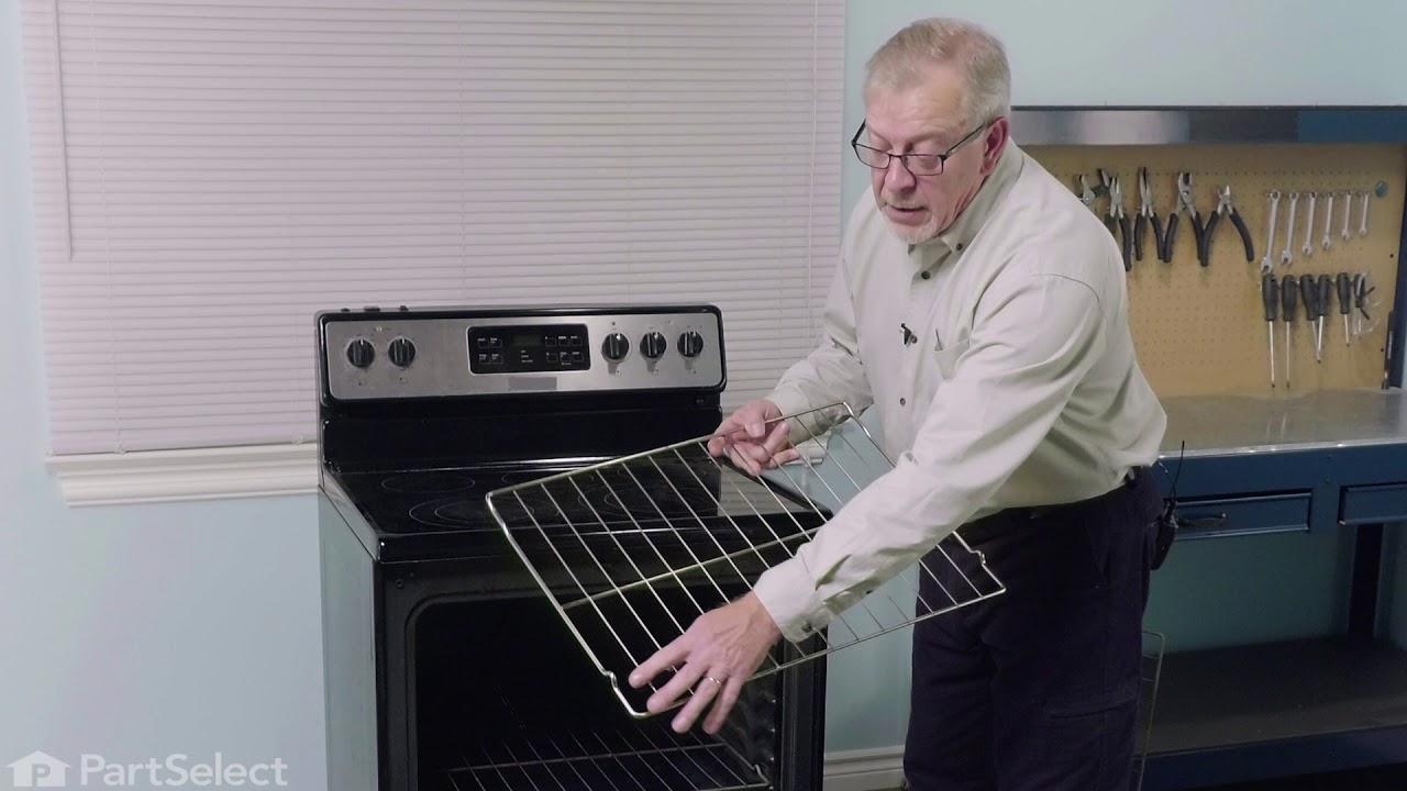 Replacing your Frigidaire Range Oven Rack