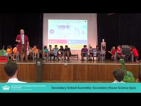Secondary School Assembly: Secondary House Science Quiz