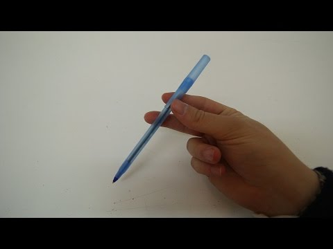 PARTY TRICKS: PEN SPIN