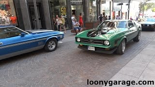 1971 Ford Mustang Mach 1 Pure Engine Sound