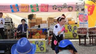 15 05 01 산청한방약초축제 테마예술단 깡통과 고하자의 품바나라 고하자님공연 03