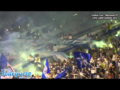 """Donde jugues, yo voy a estar - Copa Libertadores 2012"" Barra: La Banda del Expreso • Club: Godoy Cruz"