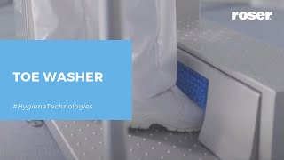 MODULE/UNIT TO WASH TOPS ENDS OF SHOES