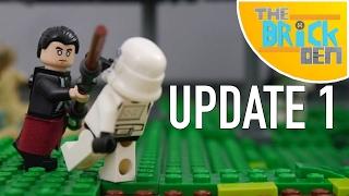 LEGO Scarif Jungle MOC-Update 1 (Rail Speeder Station+BrickLink)
