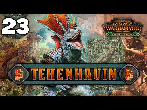 THE RITUAL TRAP! Total War: Warhammer 2 - Lizardmen Campaign - Tehenhauin #23