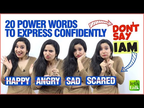Learn 20 Powerful English Words To Express Confidently In English | Advanced English Vocabulary