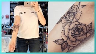 SURPRISE! Getting My Forearm Tattooed | Vlog