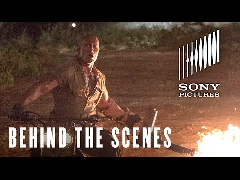 Jumanji: Welcome to the Jungle Behind the Scenes 'Spencer'