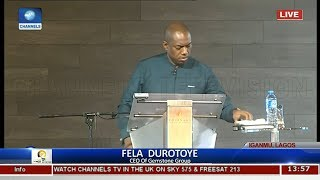 Nigeria Is Not Working For Anybody, Fela Durotoye Laments State Of The Nation Pt.3 |The Platform|