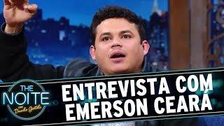 The Noite (31/08/16) - Entrevista Com Emerson Ceará