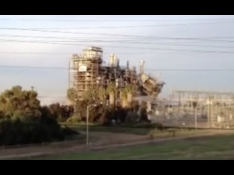 Watch: San Diego Power Plant Implodes