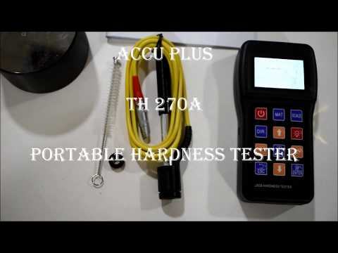 Portable Leeb Hardness Tester TH170