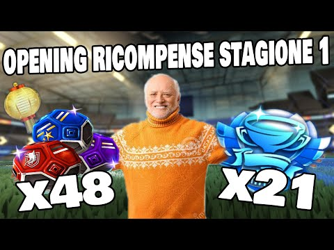 OPENING 🏆 21 All-Stars Cup & 🎁 48 Ricompense Stagione 1 di Rocket League!| Opening Rocket League ITA