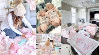 GETTING A ROUTINE! TWIN LIFE👼🏻👼🏻 -SLMissGlamVlogs💕