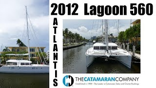 Used Sail Catamarans for Sale 2012 Lagoon 560