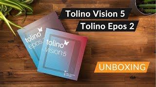 Tolino Vision 5 und Tolino Epos 2 Ersteindruck und Vergleich Unboxing | JJCPictures
