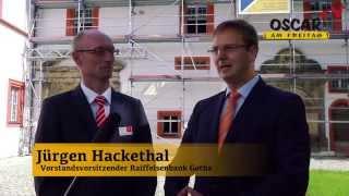 preview picture of video 'Oscar am Freitag-TV: Danksagung auf Schloss Ehrenstein in Ohrdruf'