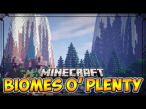 Minecraft Mods | BIOMES O' PLENTY - Over 50+ New Biomes! (Minecraft Mod Showcase)