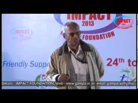 Communication Skills|V Viswanadham|TELUGU IMPACT Hyd Dec 2013
