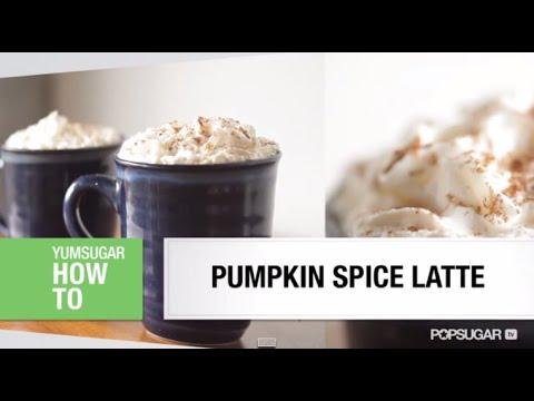 Pumpkin Spice Latte Recipe – Like Starbucks!