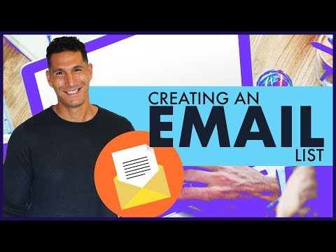 Creating An Email List - Starting An Online Business #10 (FREE COURSE)