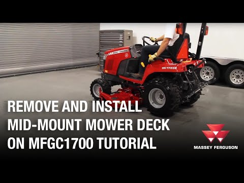 2020 Massey Ferguson 2326 Drive Over Deck in Mansfield, Pennsylvania - Video 1