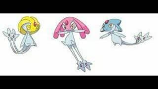 Uxie  - (Pokémon) - Pokemon D/P Remix: Mesprit/Azelf/Uxie Battle