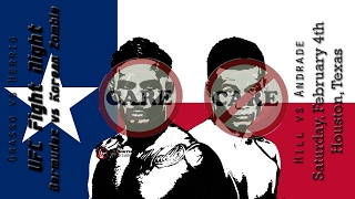 UFC Houston Bermudez vs Korean Zombie Care/Don