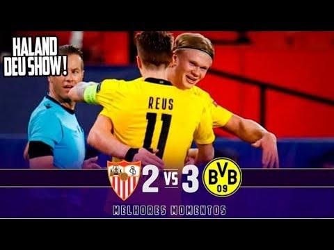 FC Sevilla 2-3 BV Ballspiel Verein Borussia Dortmu...