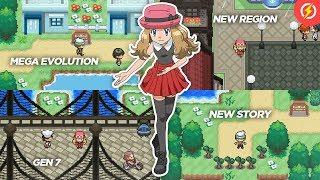 nds pokemon rom hacks with mega evolution - TH-Clip