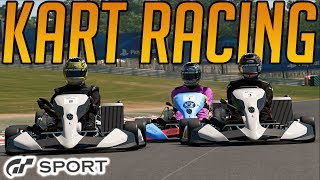 Gran Turismo Sport: Kart Races Are Mental