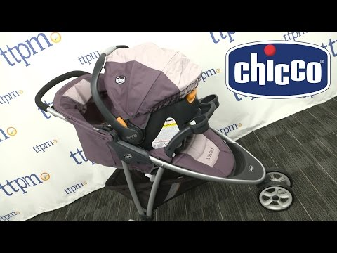 Viaro Quick-Fold Travel System (Teak) from Chicco