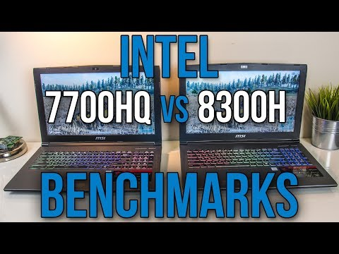 Intel i7-7700HQ vs i5-8300H – Laptop CPU Comparison and Benchmarks