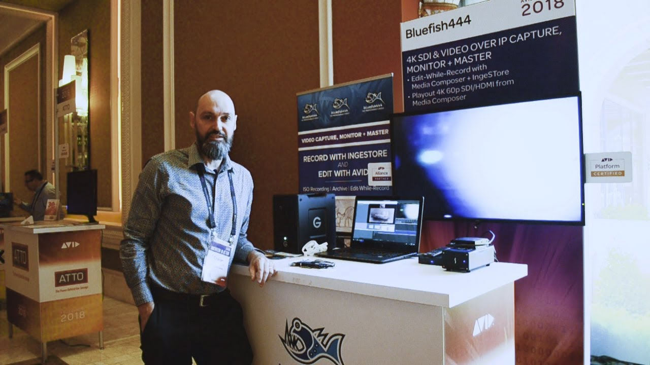 BLUEFISH444 AT AVID CONNECT 2018