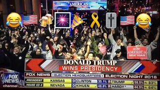 The moment FOX NEWS realizes Donald Trump OFFICIALLY wins the election!!!!